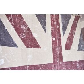 Alfombra Moderna de Lana Jc Flag Uk 36 Multicolor 170x240cm